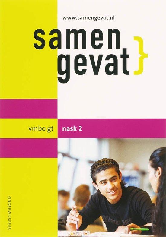 Boekomslag voor Samengevat vmbo-gt NaSk2