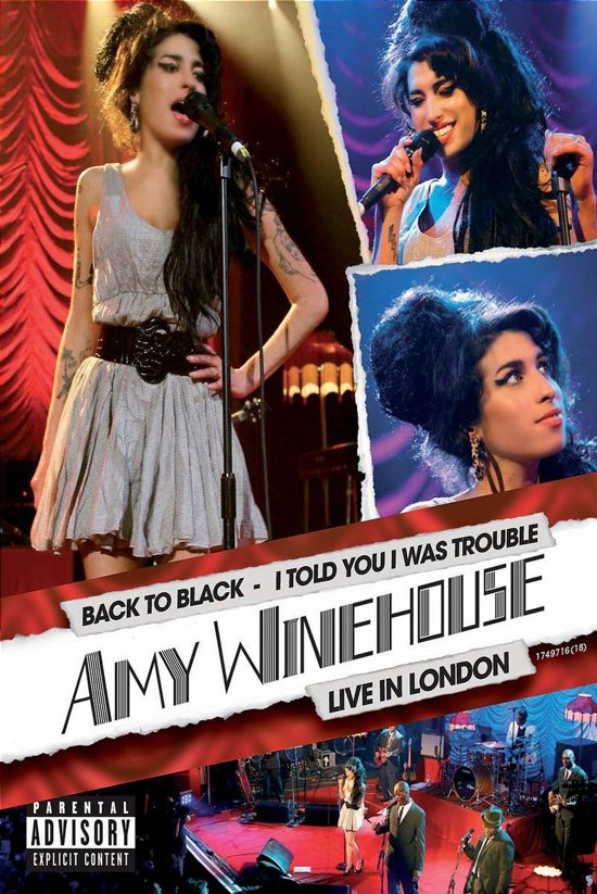 Amy Winehouse - I Told You I Was Trouble Live