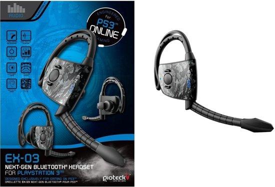 gioteck ex 03 bluetooth headset zwart ps3 gioteck games. Black Bedroom Furniture Sets. Home Design Ideas