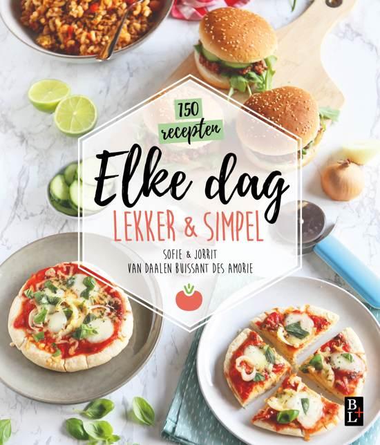 Boek cover Lekker & simpel - Elke dag van Sofie Chanou (Paperback)