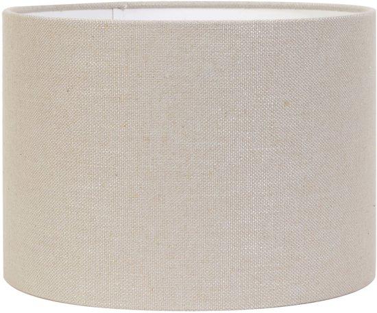 Light & Living Kap cilinder 40-40-25 cm LIVIGNO licht grijs