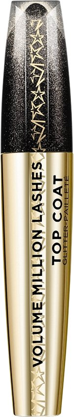 L'Oréal Paris Volume Million Lashes Mascara Topcoat - 01 Gold Glitter