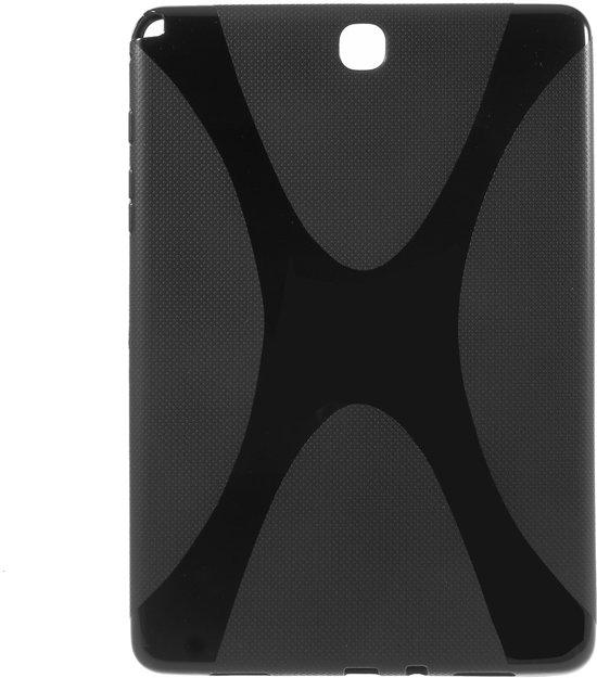 Samsung Galaxy Tab A 9.7 T550 Hoesje TPU Zwart (rubber) in Wandre