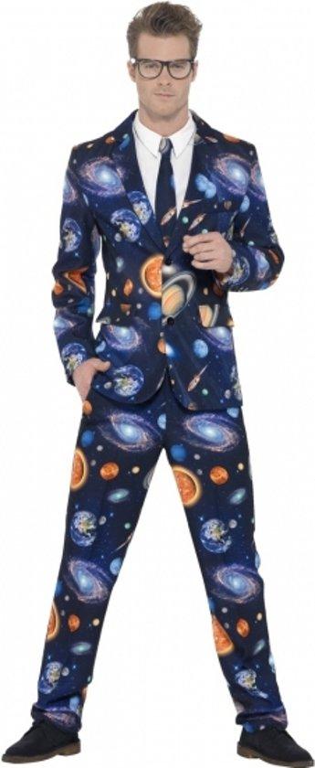 Heren kostuum galaxy 52-54 (L)