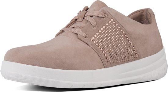 Fitflop Crystal Vrouwen Sneaker pop Maat Ecru 38 Sporty q7qwtfx6r