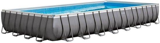 Intex Ultra Frame zwembad 975 x 488 x 132 cm (met reparatiesetje)