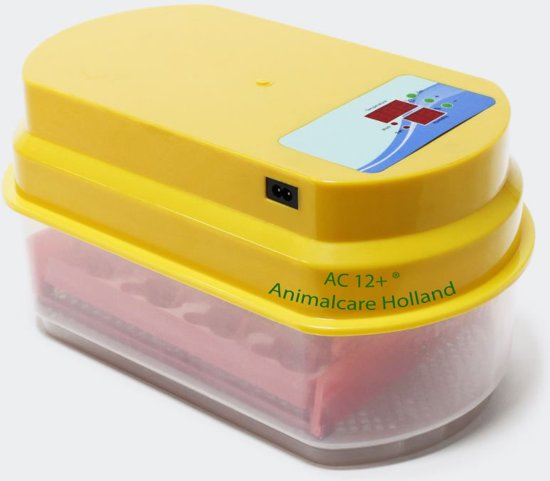 Broedmachine | 12 eieren  (met hygrometer) - Model- AC 12+ ®