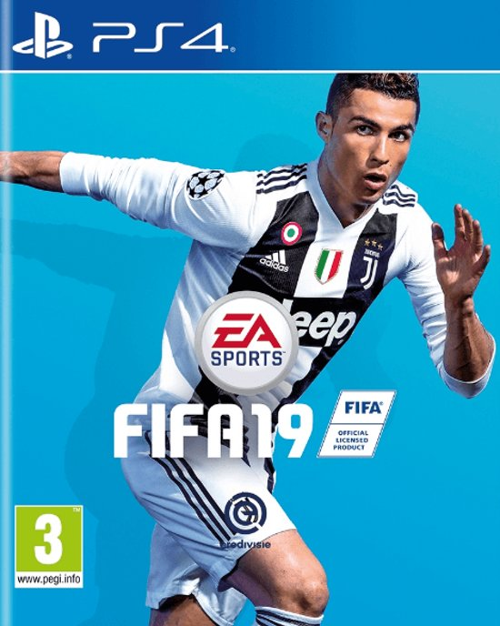 Cover van de game FIFA 19 - PS4