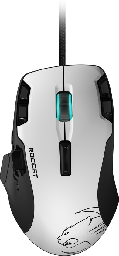 Roccat - Tyon All Action Multi-Button Gaming Muis - Wit - PC