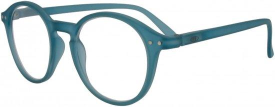 dcbd551f94fe22 Icon Eyewear YCE214 Ilja Leesbril +2.00 - Mat oceaan blauw