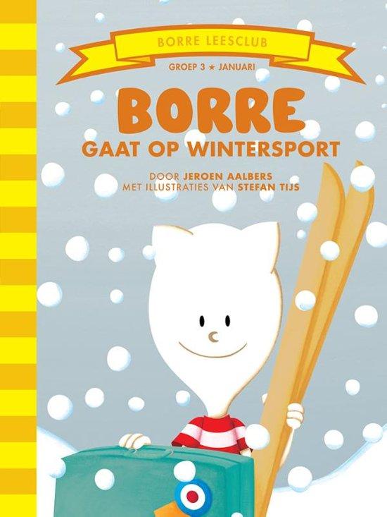 De Gestreepte Boekjes Groep 3 Januari Borre gaat op wintersport