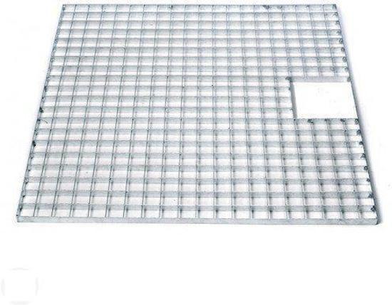 Ubbink Waterornament Afdekrooster metaal 60 x 60 cm (vierkant)