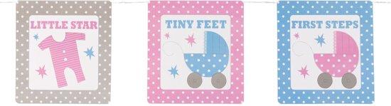 Neviti Tiny Feet - Babyshower decoratie slinger - 3,50 meter Valentinaa