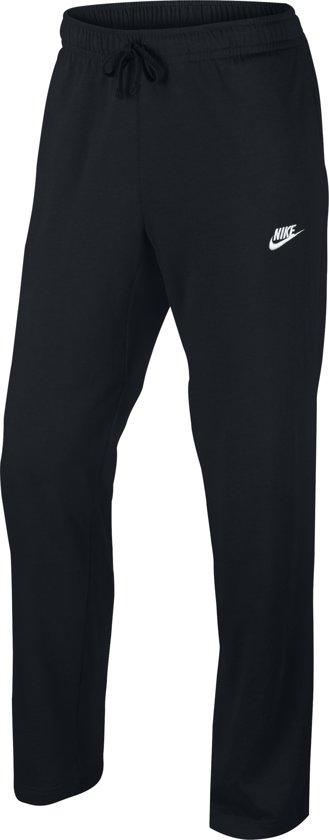 Nike Pant OH Club Jersey Sportbroek Heren - Black/(White)