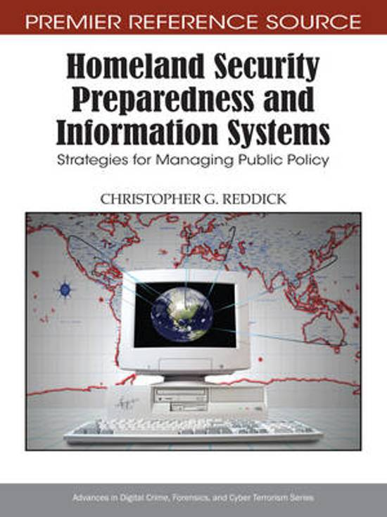 Homeland Security Preparedness and Information Systems