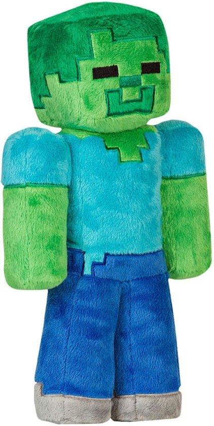 Minecraft Pluche Knuffel - Zombie 16 cm