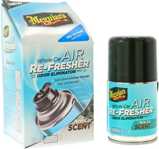 Meguiars G16402 Air Refreshner New Car Scent 59ml