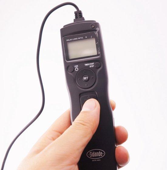 Remote Timer - Camera Timelaps Interval - Shutter Draadontspanner Camera - Voor Canon & Pentax