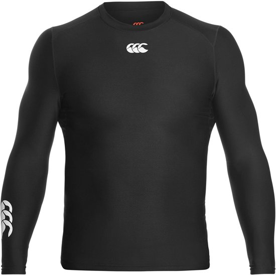 Canterbury Thermoreg Longsleeve Top  Sportshirt performance - Maat M  - Mannen - zwart