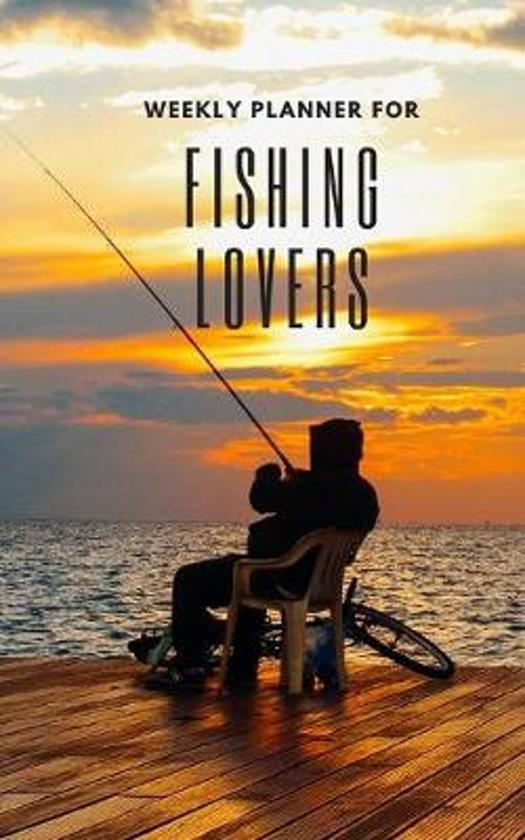 Weekly Planner for Fishing Lovers: Handy 5 x 8 weekly planner for 2020. Notebook with to do list and space to add priorities. Idea Gift for family and