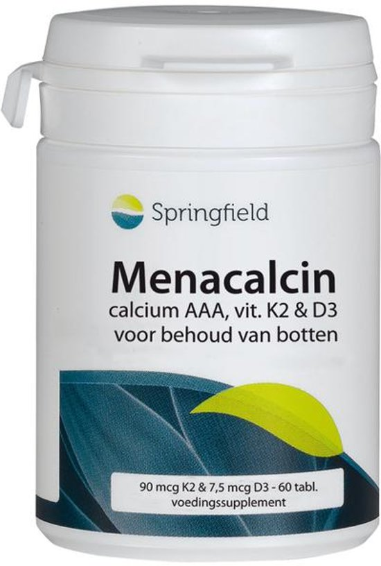 Springfield Menacalcin Vitamine K2 - 60 Tabletten