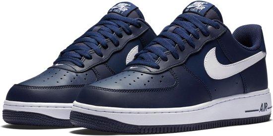 outlet store e96fe ecdbe Nike Air Force 1 Sneaker Heren Sneakers - Maat 45 - Mannen - blauwwit
