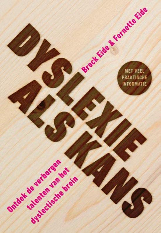 Boek cover Dyslexie als kans van Brock L. Eide (Paperback)