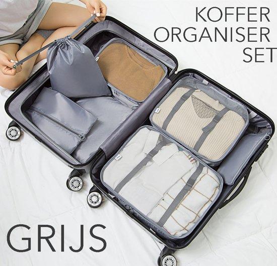 CubesGrijs ReisorganisatorKoffer Van 7 TassenSet Organiserende Tassen lJ3c1uF5TK