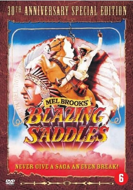 DVD cover van BLAZING SADDLES /S DVD NL