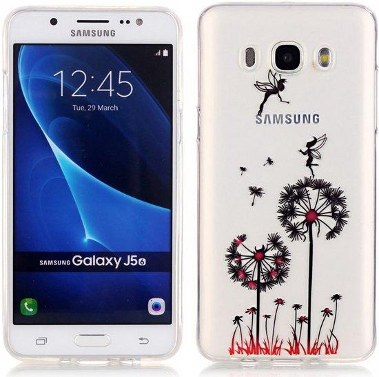 Samsung Galaxy J5 (2016) TPU Hoesje Paardebloem in Evregnies