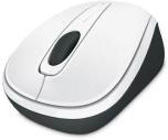 Microsoft Wireless Mobile 3500 - Draadloze Muis - Wit