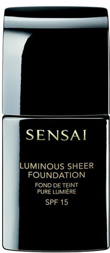 SENSAI Luminous Sheer Foundation 30 ml 206 - Brown Beige