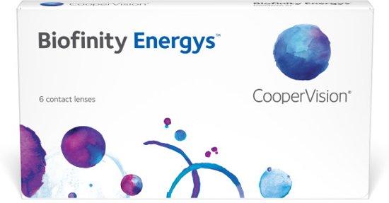 Biofinity Energys - 6 stuks -  S +7,50 - maandlenzen  - contactlenzen