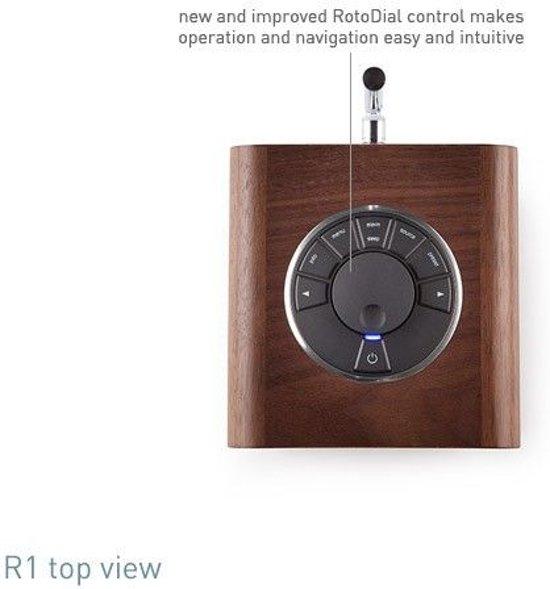 Ruark Audio R1 mk3 - tafelradio - DAB+ - Bluetooth - Zwart
