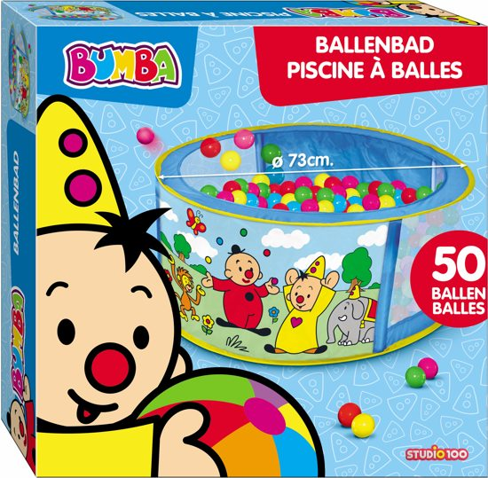 Bumba Ballenbad 50 Ballen