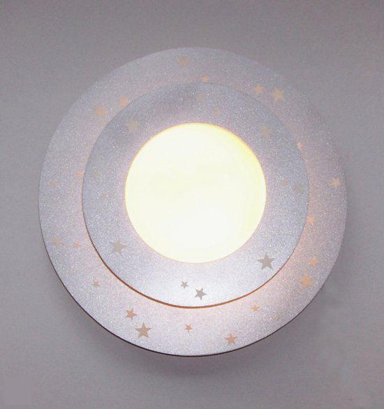 Funnylight Glow in het dark - Plafonniere - Zilver