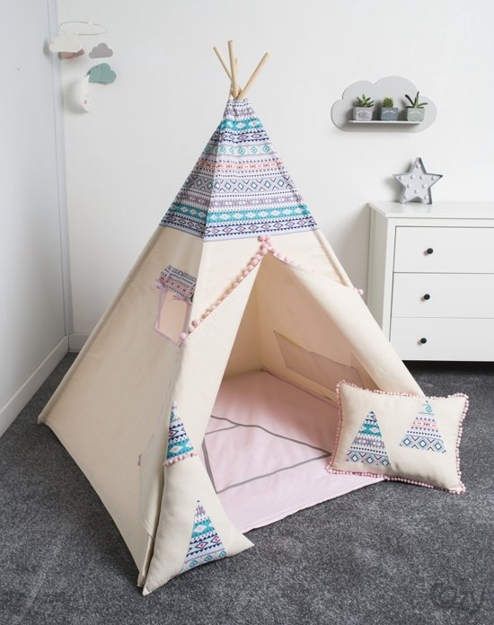 Fujl Tipi Tent Speeltent Wigwam Kinder