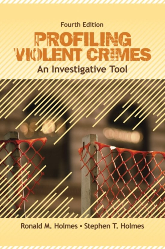 profiles of violent offenders