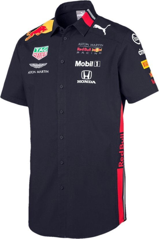 PUMA Red Bull Racing Team Shirt Shirt Heren - Night Sky
