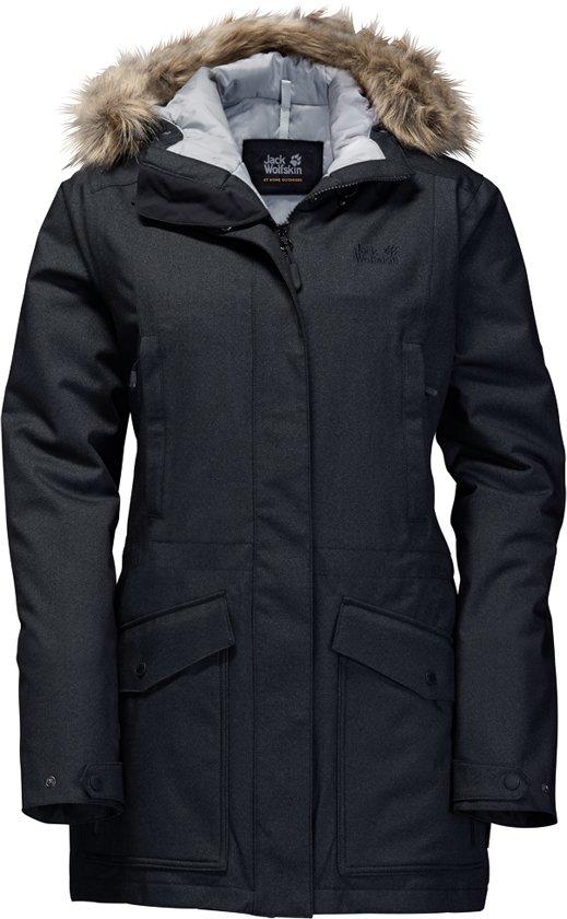 grote verscheidenheid aan modellen popul beste deals voor Jack Wolfskin Coastal Range - dames - winterjas - XL - zwart