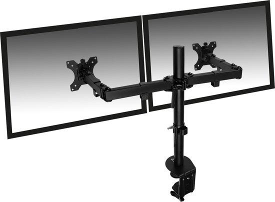 Eminent EM1512 flat panel bureau steun 68,6 cm (27'') Klem Zwart