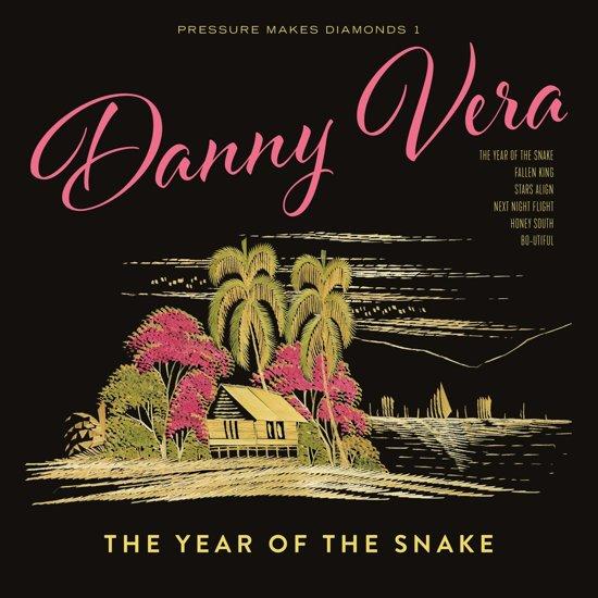 CD cover van Pressure Makes Diamonds 1 - The Year Of The Snake van Danny Vera