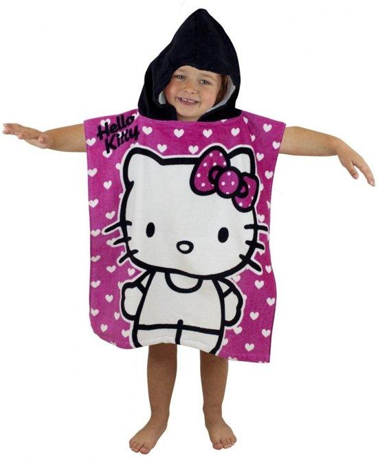 Handdoek Hello Kitty.Bol Com Hello Kitty Poncho Handdoek