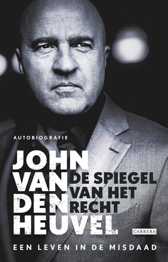 Boek cover De spiegel van het recht van John van den Heuvel (Onbekend)