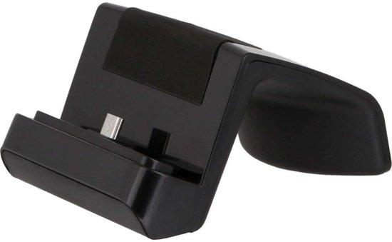 Docking station met MicroUSB aansluiting voor de Asus Zenfone 4 Max 5.2 ZC520KL - black