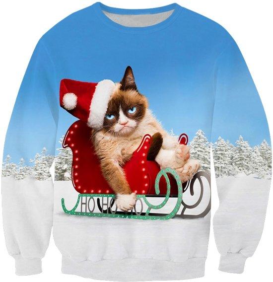 Foute Kersttrui Bol.Bol Com Grumpycat Foute Kersttrui Maat L Superfout Speelgoed