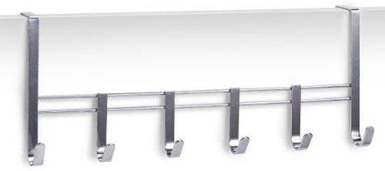 Nieuw bol.com   Zeller Deurkapstok - Opdekdeur 2cm - Chroom SB-72