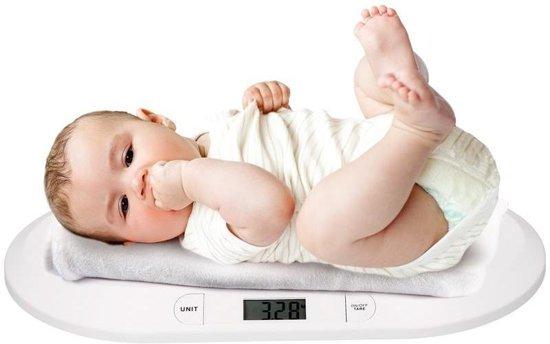 Grundig - Babyweegschaal - Wit
