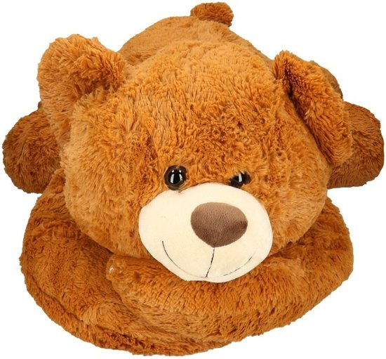 f682b87c53e3fe bol.com | Mega pluche knuffelbeer bruin 120 cm, Merkloos | Speelgoed