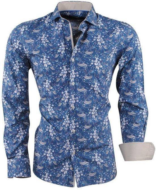 Met Trendy Overhemd Heren Tower Dom Navy Design zwqtFWa
